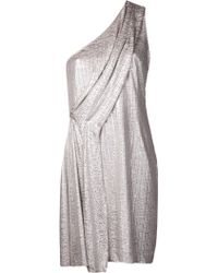 Matthew Williamson Cross Over Drape Dress - Lyst