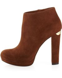 MICHAEL Michael Kors Haven Bootie - Lyst