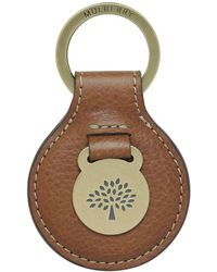 Mulberry Brown Heritage Keyring - Lyst