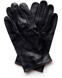 Paul Smith - Unlined Leather Gloves - Lyst