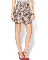 Ark & Co. Brocade Skirt - Lyst