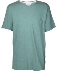 Rag & Bone Basic Crew Neck Tshirt - Lyst