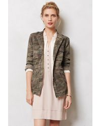 Sanctuary Riley Camo Jacket - Lyst