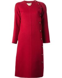 Valentino Vintage Button Fastening Dress - Lyst
