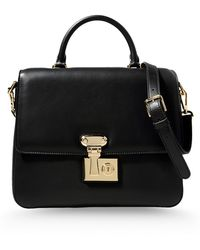 Dolce & Gabbana Medium Leather Bag - Lyst