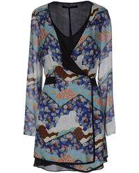Proenza Schouler Short Dress multicolor - Lyst