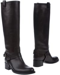 Ralph Lauren Brown Boots - Lyst