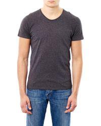 American Vintage Denver Crew-Neck T-Shirt - Lyst
