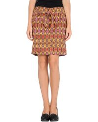 Nolita - Knee Length Skirt - Lyst