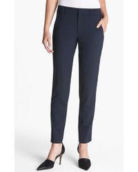 Vince 'Strapping' Stretch Wool Trousers - Lyst