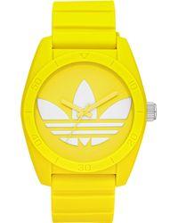Adidas Unisex Sports Watch Yellow - Lyst