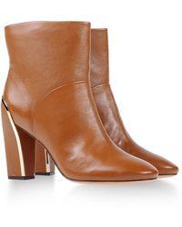 Diane von Furstenberg Ankle Boots - Lyst