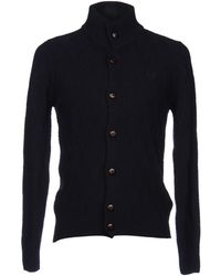 Fred Perry Cardigan - Lyst