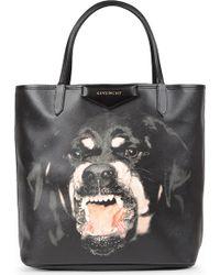 Givenchy Antigona Rottweiler-print Shopper - Lyst