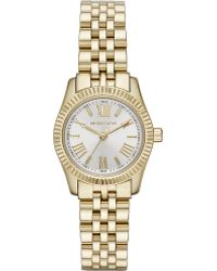 Michael Kors Mk3229 Lexington Gold-Plated Watch - For Women - Lyst