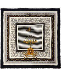 Mother Of Pearl - Black and White Micha Scarf - Lyst