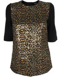 Rachel Comey Parcel Leopard Top animal - Lyst