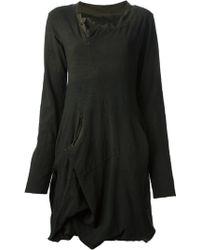 Rundholz Long Sleeve Dress - Lyst