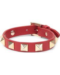 Valentino Valentino Small Stud Bracelet - Lyst