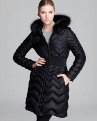 Dawn Levy Down Coat Jacqueline Fur Collar - Lyst