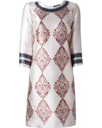 Etro Etro Printed Dress - Lyst