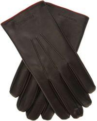 Giorgio Armani - Giorgio Armani Leather Gloves - Lyst