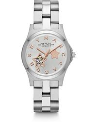 Marc By Marc Jacobs - Two-Tone Stainless Steel Star Cutout Watch - Lyst