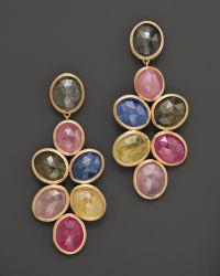 Marco Bicego - Siviglia 18k Gold Mixed Sapphire Earrings - Lyst