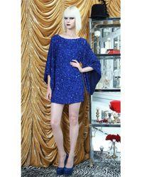 Alice + Olivia Alice Olivia Lari Bell Sleeve Sequin Dress - Lyst
