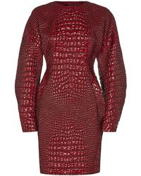 Antonio Berardi Croceffect Dress - Lyst