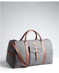 Ben Minkoff - Grey Flannel Emil Weekender Travel Bag - Lyst