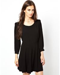 Dress Gallery - Smock Dress with Bow Detail - Lyst