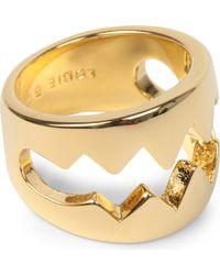 Eddie Borgo - Bear Trap Goldplated Ring - Lyst