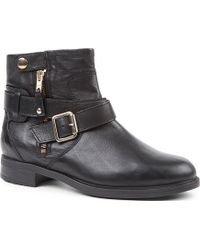 Carvela Kurt Geiger Saturn Leather Ankle Boots - For Women - Lyst