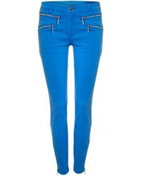 Michael Kors Jean with Double Zip - Lyst