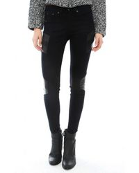 Rag & Bone The Halifax Paneled Legging - Lyst