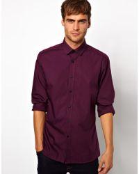 Lambretta - Penny Collar Shirt - Lyst