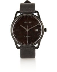 Nixon - Mellor Automatic Stainless Steel and Leather Watch - Lyst