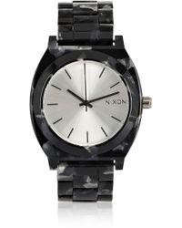 Nixon - The Time Teller Acetate Watch - Lyst