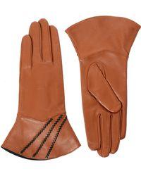 Sam Ubhi - Alice Hannah Vintage with Whipstitch Leather Gloves - Lyst