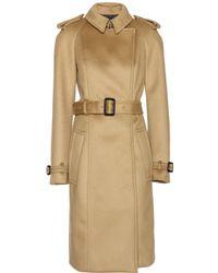 Burberry Prorsum Cashmere Coat - Lyst