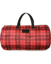 Marc By Marc Jacobs - Mesh Plaid Packables Large Duffel - Lyst