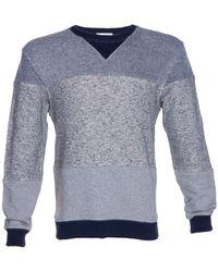 Oliver Spencer Panel Crew Sweatshirt - Lyst