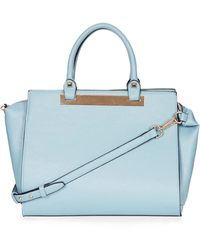 Topshop Plated Holdall - Lyst