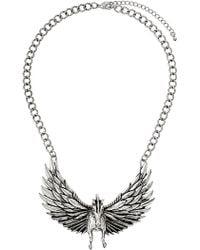 Topshop Pegasus Collar - Lyst