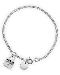 Hermes Birkin Charm Bracelet - Lyst
