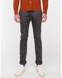 Rogue Territory Officer Trouser In Grey - Lyst