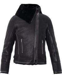 Isabel Marant Backal Shearling Jacket - Lyst