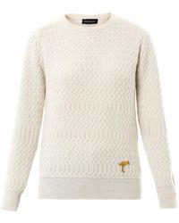 Sophie Hulme - Zig Zag Knit Sweater - Lyst