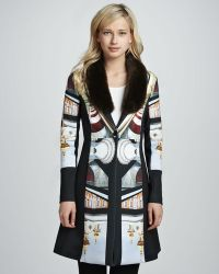 Clover Canyon - Metro Palace Plate Jacket with Fauxfur Trim - Lyst